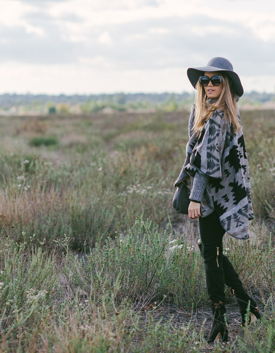 Western Vibes in Grey & Black