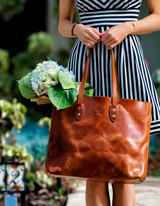 Jackson Wayne: My Everyday Spring Tote