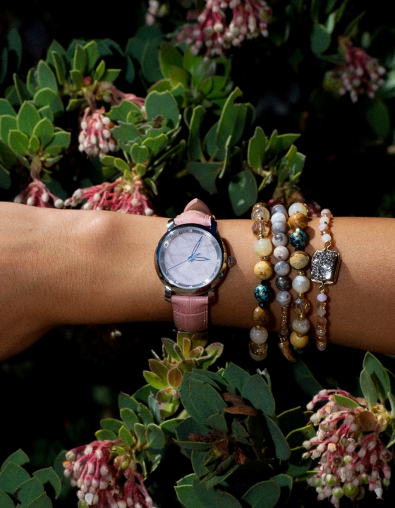 Alex Benlo | Rose Quartz Watch