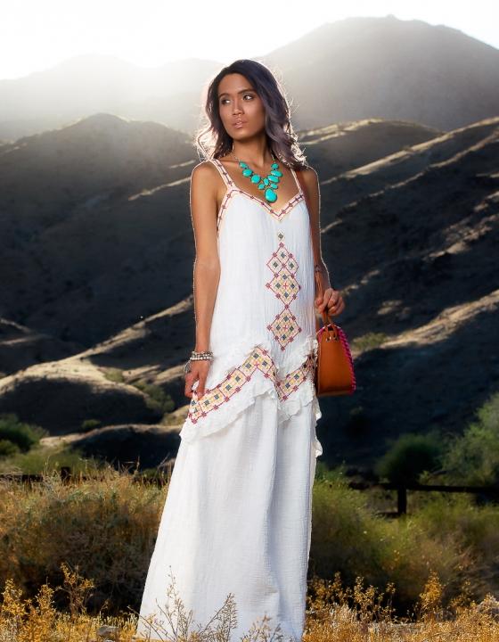 Desert Gypsy Vibes | Macy's Max Studio