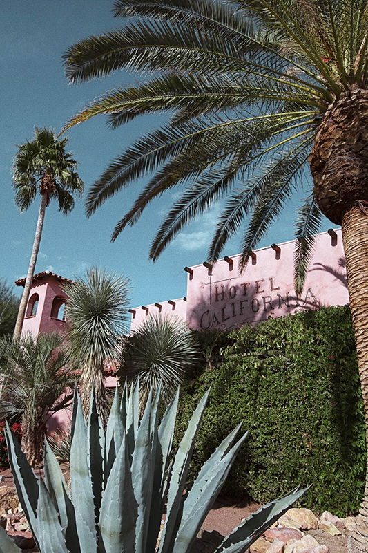 palm springs photogenic hotel hotel california