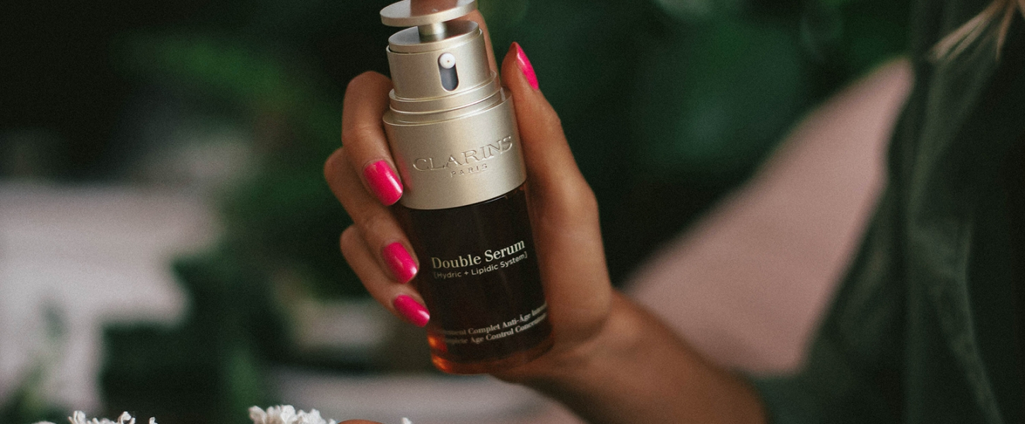 One-Year Anniversary with Clarins Double Serum