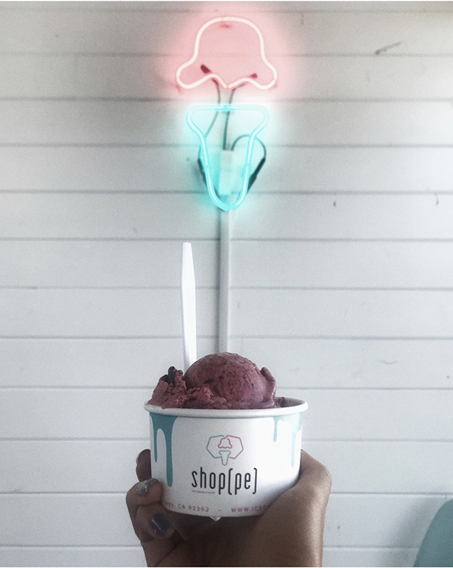 ice cream & shoppe
